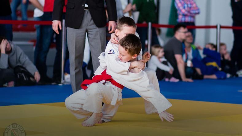 Zajecia judo dla dzieci
